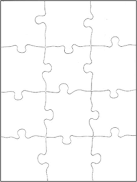 printable jigsaw paper best photos of blank jigsaw puzzles jigsaw puzzle
