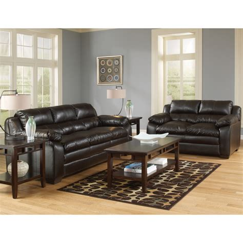 art van living room sets art van maddox espresso sofa and loveseat set overstock