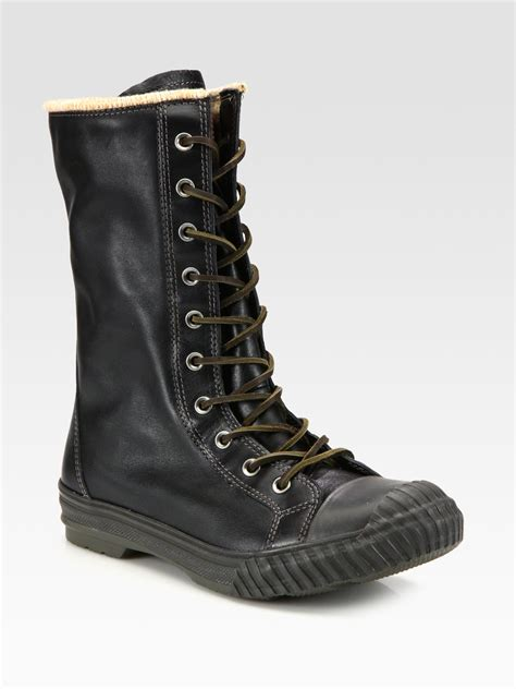 converse chuck all bosey boots in black