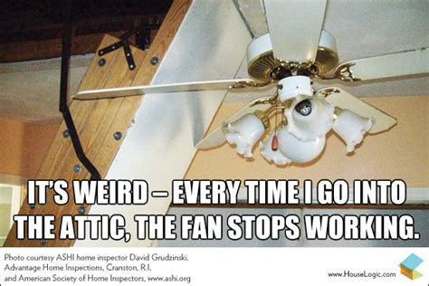 Ceiling Fan Maintenance Funny Fail Meme Ceiling Fan And Attic Stairs Houselogic