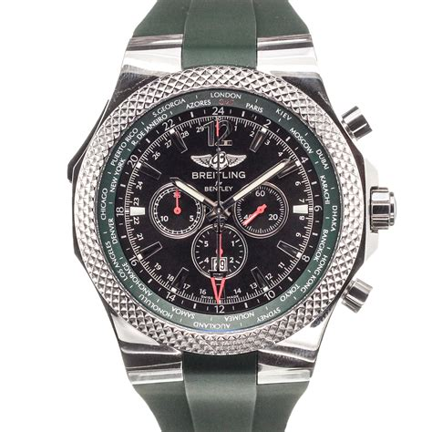 breitling bentley breitling bentley motors chronograph white mens