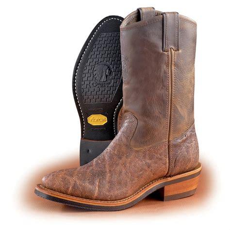 elephant boots s chippewa 174 elephant boots chestnut 99312 cowboy