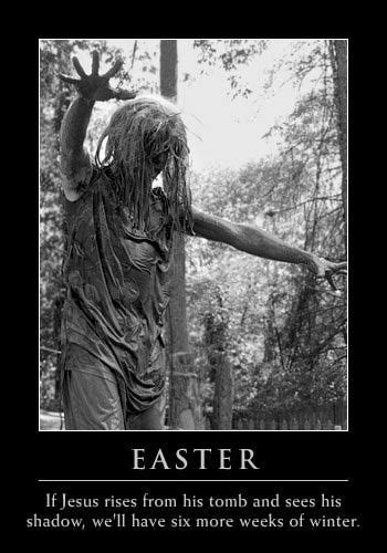 Pagan Easter Meme - unapologetics countering apologetics with sarcasm