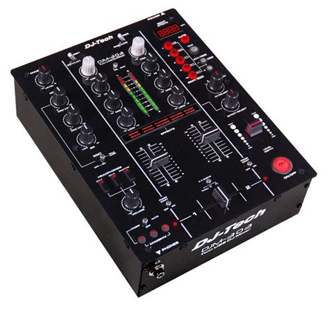 console dj tech table de mixage dj tech djm303 audioclub fr