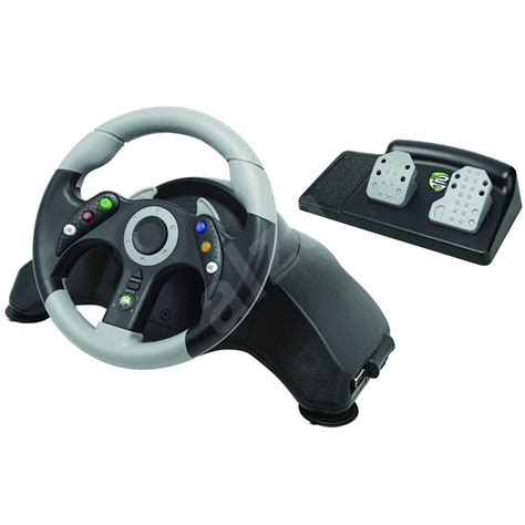 volante mad catz xbox 360 mad catz xbox 360 mc2 microcon racing wheel čern 253 volant
