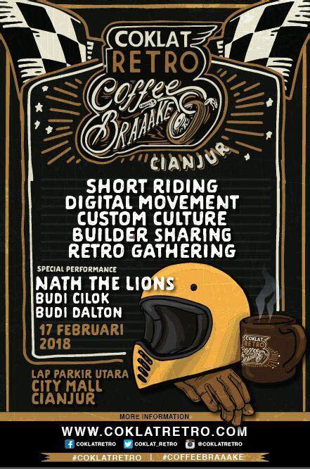 Lu Tembak Bikers 2 builder ini siap hadir di coklat retro coffee braaake