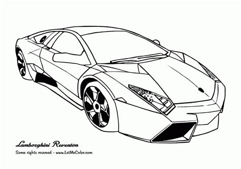 Printable Lamborghini Coloring Pages Lamborghini Coloring Page Coloring Home