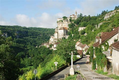 Free New Home Design by Photo Rocamadour France