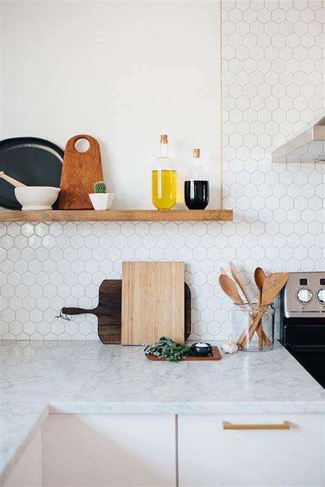 hexagon tile kitchen backsplash 25 stylish hexagon tiles for kitchen walls and backsplashes home design and interior