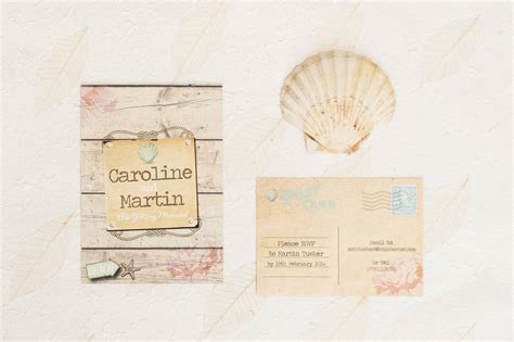 not on the high rustic wedding invitations wedding invitation by something kinda notonthehighstreet