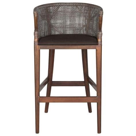 Safavieh Brando 28 in. Brown Cushioned Bar Stool SEA4014A