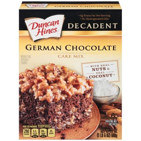 12 Ingredients And Directions Of Decadent Chocolate Tofu Cheesecake Receipt by Duncan Hines Decadent German Chocolate Cake Mix 21 Oz