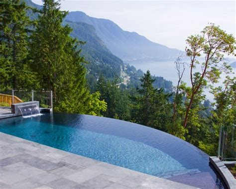 infinity pool backyard 21 landscape small backyard infinity pool design ideas
