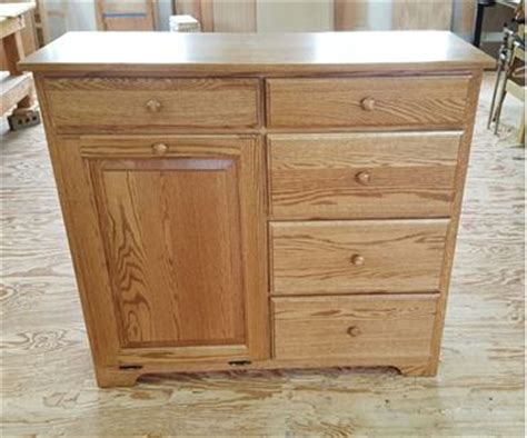 free standing trash can cabinet diy four seasons furnishings amish made furniture amish made