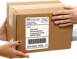 Package Label Template by Shipping Labels Shop Printable Shipping Labels For