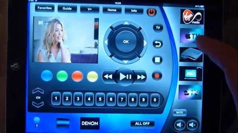 ipad control  home theatre  demopad app