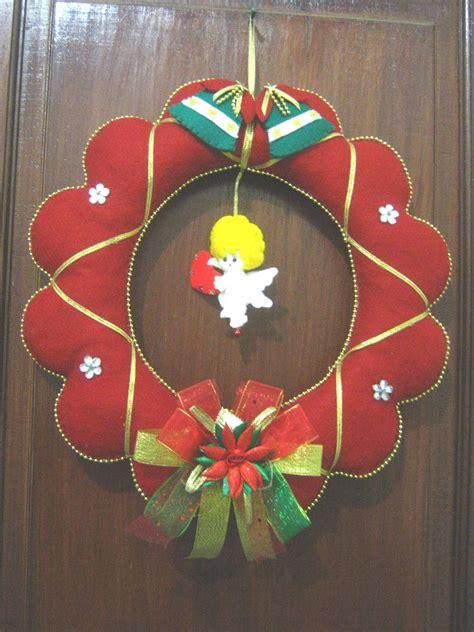 Hiasan Dan Gantungan Natal wulan flanel pernik qu gantungan pintu natal