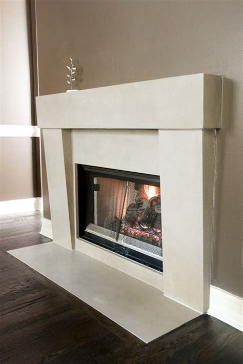 concrete fireplace surrounds fireplace surround atlanta concrete countertops st
