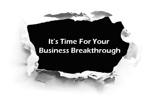 business breakthrough what are your business resolutions let me help for