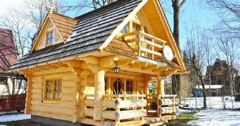 company house lovely 296sf handmade tiny log house by the little log house company tiny houses