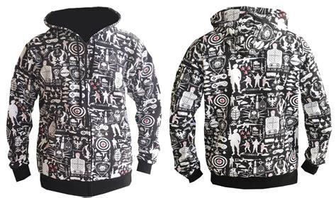 Jaket Gamers army duty hooded top gamer hoody zip jacket