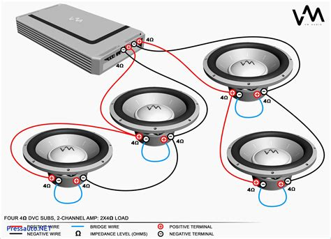 dual 2 ohm subwoofer wiring diagram 35 wiring diagram