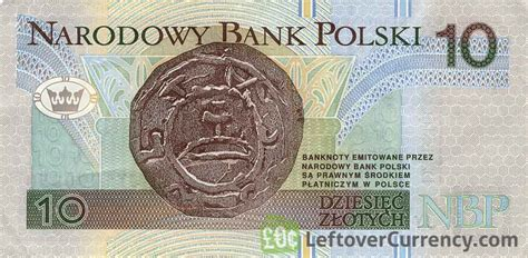 currency converter zloty 10 polish zloty prince mieszko i exchange yours for cash