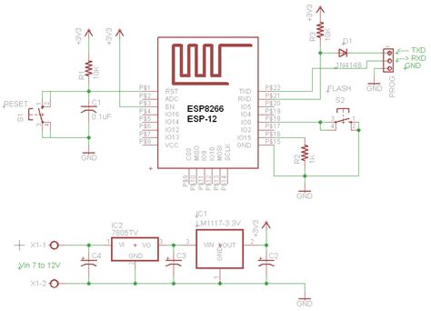 complete circuit getting strted with iot esp8266 circuits4you