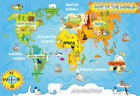 world maps for kids com kids world map within world maps for pix gallery pinterest