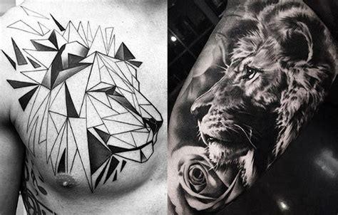 imagenes de guerreros en leones tatuajes de leones para hombres mujeres y sus diferentes