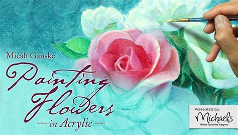 acrylic paint cass craftdrawer crafts learn how to paint flowers in acrylic
