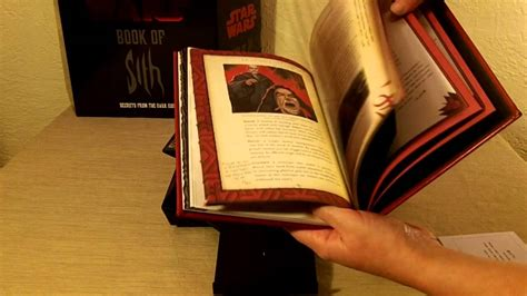 Pdf Book Sith Secrets Vault by Wars Book Of Sith Vault Edition Unboxing