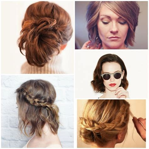 ways to wear short curly hair 18 easy styles for short hair
