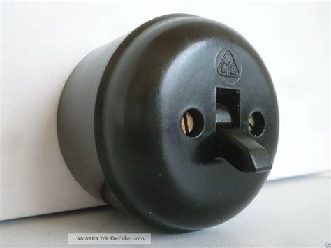 Historische Schalter Steckdosen by Bakelit Schalter Lichtschalter Kippschalter Aufputz