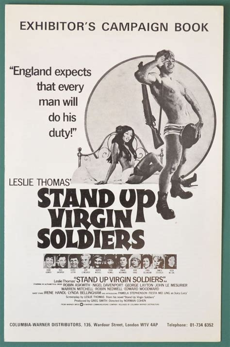 film stand up virgin soldiers stand up virgin soldiers original 6 page cinema exhibitors
