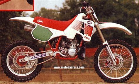 1989 Ktm 250 Exc Ktm 250 Tutti Gli Anni Di Produzione