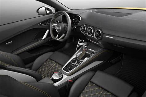 Audi Tt 2015 Interior by 2015 Audi Tt Tt S Roadster Revealed Lighter More
