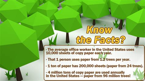 How Many Sheets Of Paper Does One Tree Make - the facts on paper
