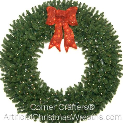 72 inch lighted christmas wreath cornercrafters com