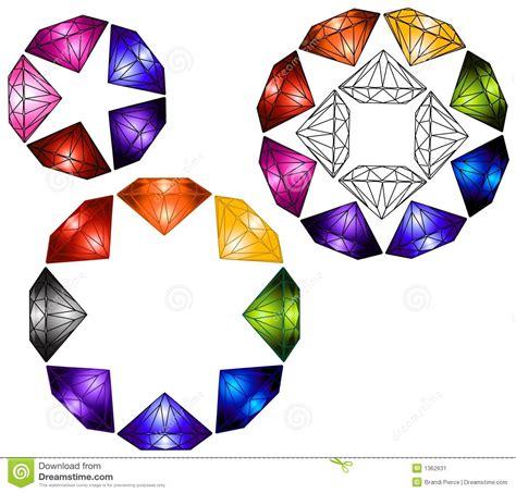 home design free gems multicolored gems stock image image 1362631