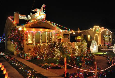 usa best christmas lights lights best decorated streets in the