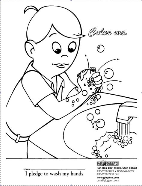germ coloring page coloring home