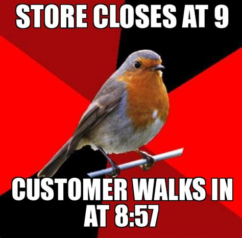 Retail Robin Meme - add your own caption use our meme generator to create your