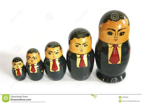 doll business businessman russian dolls stock photo image 2992930