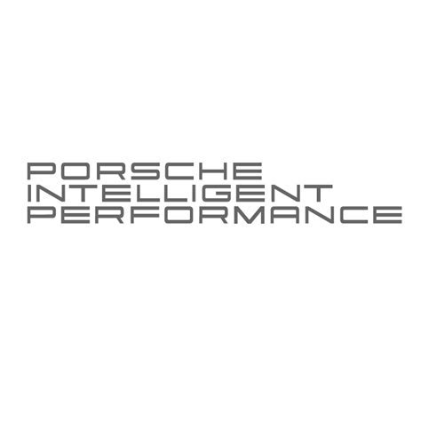 Porsche Intelligent Performance L/H Vinyl Sticker   £1.99