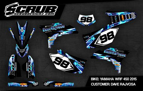 design graphics for bike custom dirt bike graphics scrubdesignz
