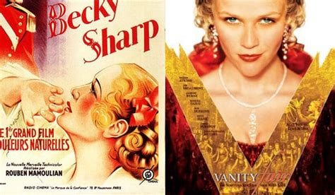 Vanity Fair The Novel by Frock Flicks Guide To Vanity Fair On Screen Frock Flicks