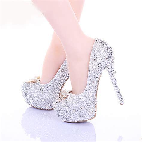 cinderella high heel shoes 2015 cinderella high heels wedding shoes 14cm thin