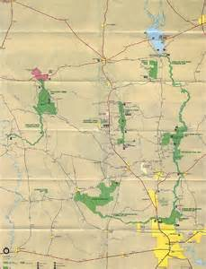 big thicket map big thicket national reserve map big thicket national