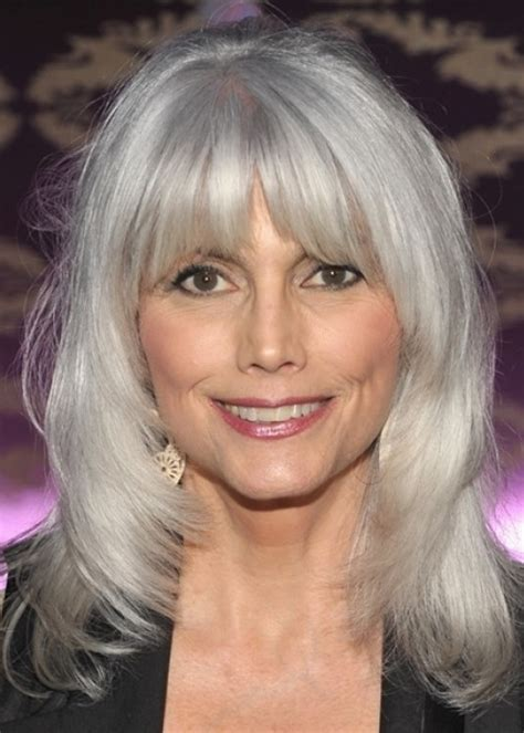 mid length grey hair 30 stylish gray hair styles for short and long hair
